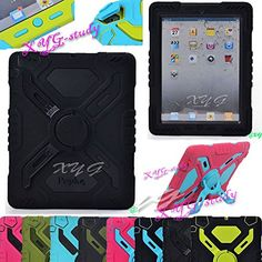 Waterproof Shockproof Dirt Snow Sand Proof Survivor Extreme Army Military Heavy Duty Cover Case Kickstand for Apple iPad Mini  $19.00