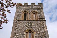 St Laurence church, Falmer village