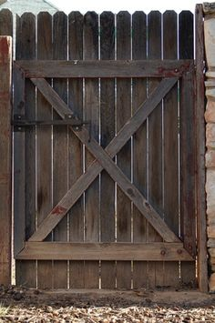 DIY Fence Gate 5 Ways to Build Yours Fence gate Wooden garden