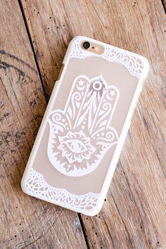 Hamsa Phone Case Homewares by Treeoflife