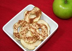 Healthy Homemade Apple Chips