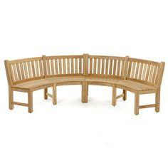 Buckingham Fire Pit Teak Bench Set | Westminster Teak Teak Outdoor Furniture, Furniture Ideas, Westminster Teak, Curved Bench, Fire Pit Seating, Bench Set, Teak Table, Modern Lounge, Teak Wood