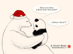 » A Good Bear Panda and Polar Bear