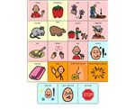 Little mouse,Hungry bear and the red ripe strawberry playboard –