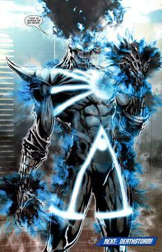 Comic Book Characters, Comic Character, Comic Books Art, Comic Art, Spawn Characters, Firestorm Dc, Hq Marvel, Black Lantern, Arte Dc Comics
