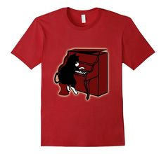 Cat Playing Piano Shirt | Cat Keyboard Shirt