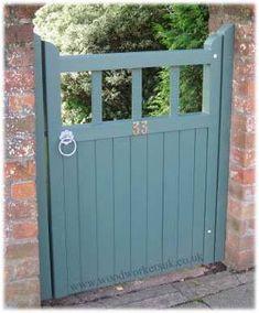 Ms McQueen's St Asaph garden gate