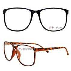 Large Nerdy Thin Frame Glasses #MJEyewear
