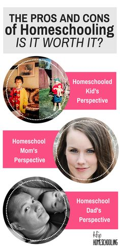 The Pros and Cons of homeschooling from a kids perspective, mom's perspective AND a dad's perspective | benefits of homeschooling | homeschooling benefits | homeschool pros and cons