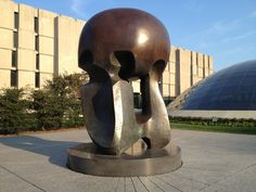 Nuclear Energy (Henry Moore sculpture) - Site of first controlled nuclear reaction in Chicago, IL