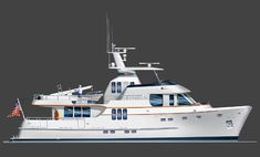 70' Voyager | Seaton Yachts - Trawler Yacht Design by Stephen R. Seaton