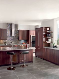 Best Kitchen Dark Cabinets Lighter Grey Walls Reno Home 400 x 300