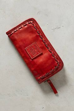 Rosso Woven Wallet