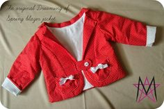 The Dreaming of Spring Blazer |FREE PDF Pattern| day 1 of the Sew along