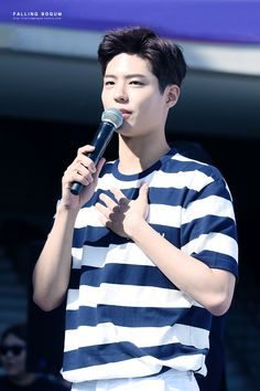 """""""170603 ♡ tngt fansign  falling in bogum // do not edit or remove watermark."""""""