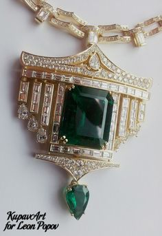 KupavArt's jewelry works for Leon Popov