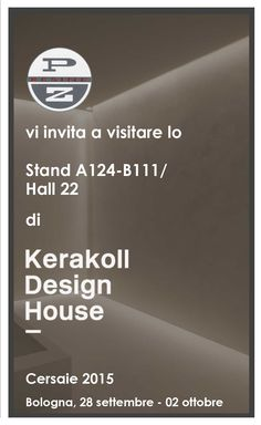CERSAIE 2015  Kerakoll Design House in collaborazione con P.Z. resine