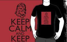 Keep Calm and Keep Your Arms tee shirts