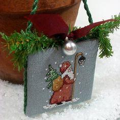 Old World Santa Cross Stitch Christmas от SnowBerryNeedleArts