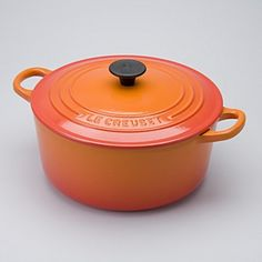 Our Favorite Holiday Gifts 2011: Le Creuset 4.5-Quart Round French Oven, Flame
