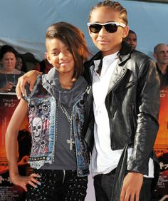 Willow and Jaden Smith, August 2010 In Tokyo for the premiere of The Karate Kid, star Jaden and sister Willow smile for the cameras.