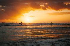 Epic sunsets and surf- Nosara, Costa Rica- p: Matt Chenet #safarisurfschool