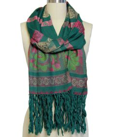 Emerald Printed Scarf