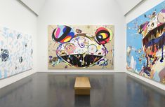 Past show featuring works by Takashi Murakami at MCA Chicago Chicago, 220 E Chicago Ave Jun – Sep 2017 Global Art, Instagram Art, Painting, Takashi Murakami Art, Art, Artsy, Contemporary Art, Art Exhibition, Pop Art