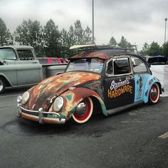 Patchwork VW Volkswagen SQUIRREL