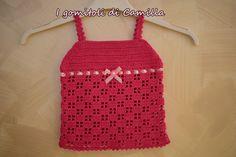 Easy Crochet Patterns, Crochet Stitches, Crochet Scarves, Crochet Clothes, Baby Dress Patterns, Crochet Home Decor, Crochet For Kids, Crochet Tops, Bikini
