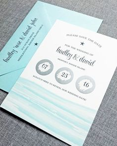 6 Creative Save the Date Ideas - scratch off save the date by cricket printing