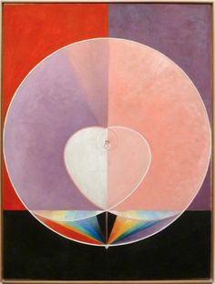 """What a Human Being Is"" by Hilma af Klint"