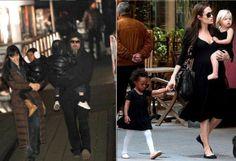 A belíssima atriz Angelina Jolie é super fã do preto. Ela usa e abusa no dia a dia, sempre com muito conforto, sem perder a elegância...