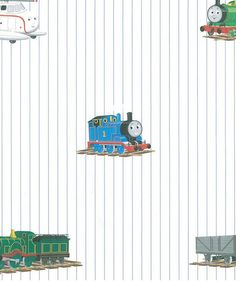 Train and Friends Wallpaper  Boys Kids by WallpaperYourWorld