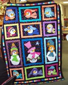 Attic Window Quilt Shop: THESE SNOW WOMEN WILL MELT YOUR HEART