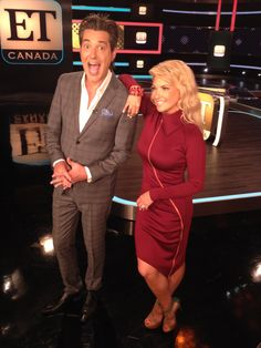 Cheryl Hickey continues to rock it this week in the ET Canada Studio in yet another amazing dress from Madame Moje  madamemoje.com Cheryl, Fashion Forward, Nice Dresses, Canada, Rock, Studio, Formal, Amazing, Women