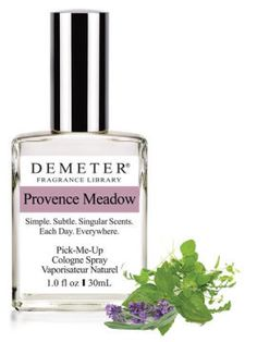 Demeter Provence Meadow: I need this as a room spray or diffuser for the kitchen http://www.demeterfragrance.com/778671/products/Provence-Meadow.html