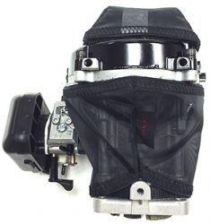 20-2915 G320 RC ZENOAH MOTOR FLYWHEEL COVER. WATER REPELLENT PRE-FILTER W/VELCRO FOR ATTACHMENT.