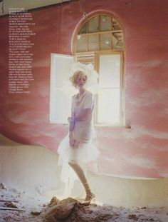 Agyness Deyn by Tim Walker #fashion #photography