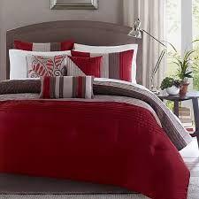 New bedroom ideas master red comforter sets 59 Ideas Red Bedroom Themes, Gray Bedroom, Trendy Bedroom, Bedroom Colors, Modern Bedroom, Master Bedroom, Bedroom Decor, Bedroom Girls, Bedroom Ideas
