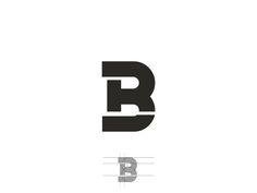 B R Logo Design. by Farooq Shafi