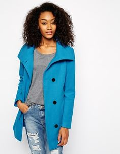 Vero Moda Funnel Neck Coat