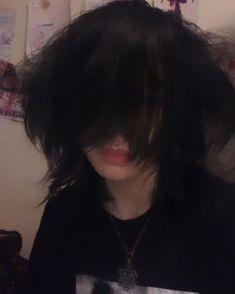 Cut My Hair, Hair Cuts, New Hair, Hair Inspo, Hair Inspiration, Emo Boy Hair, Short Grunge Hair, Poofy Hair, Androgynous Hair