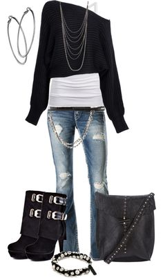 cool edgy look