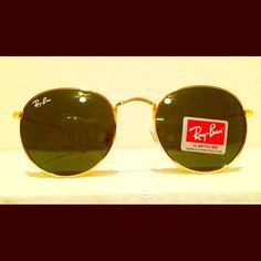 6959281a5b Ray-ban Round Sunglasses BRAND NEW IN RAY BAN ORIGINAL BOX