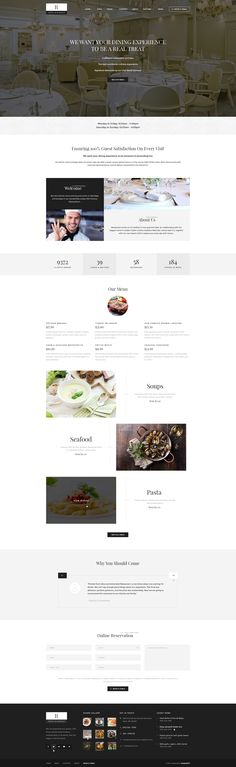 #restaurant #elegant #psd #themeforest #food book #template