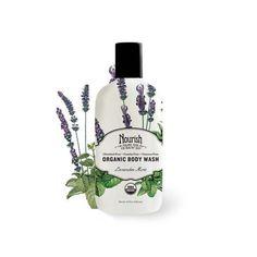 Nourish Organic Body Wash - Lavender Mint - 10 Oz