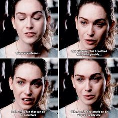 The violence that we do to ourselves when we're too afraid to be who we really are. #sense8