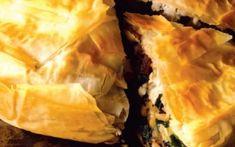 Πίτα με σπανάκι, ρύζι και μετσοβόνε Spanakopita, Ethnic Recipes, Food, Essen, Meals, Yemek, Eten