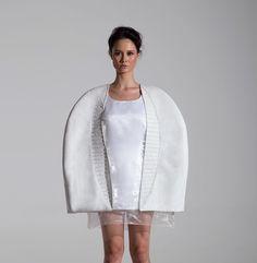 """Изабелла Пагнан (Isabella Pagnan) в 2014 году заняла 2-е место в национальном конкурсе дизайна моды с проектом под названием """"Балет де-Калатрава"""". #дизайн #дизайнер #мода #Италия"""
